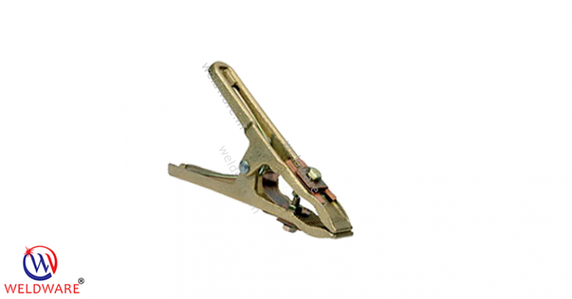 WELDWARE Ground Clamps-S Series European Brass