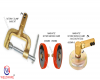 WELDWARE Ground Clamps-Magnetic Rotating Series